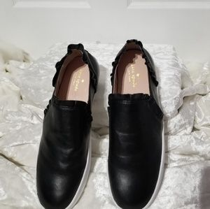 Kate Spade Black Loafers Shoes B6